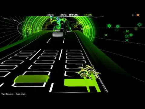 The Blasters - Dark Night [HQ Audiosurf]