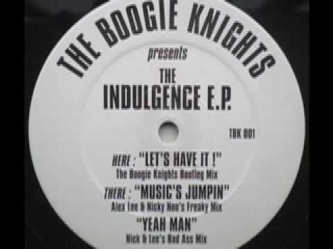 SPEED GARAGE - THE BOOGIE KNIGHTS - THE INDULGENCE EP - (Nick & Lee`s Bad Ass Mix)