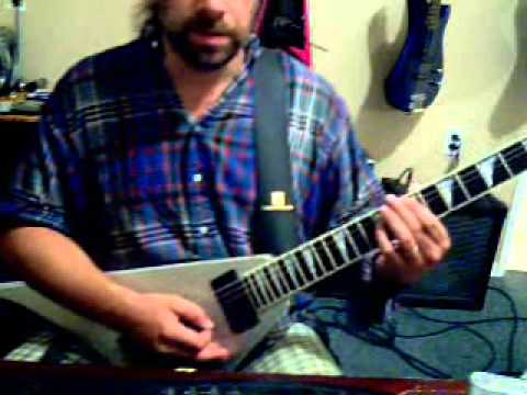 EZ AXE LESSONZ!!! KNIGHTS OF CYDONIA BY MUSE GUITAR COVER LESSON PART 2