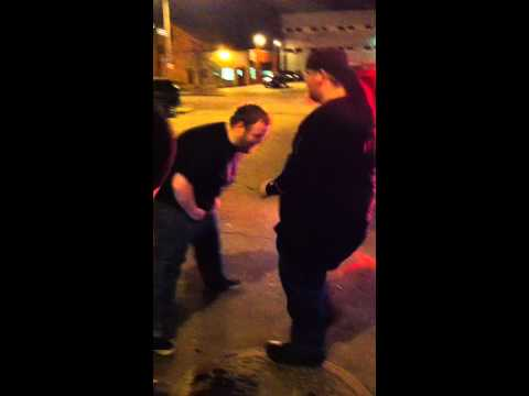 TBTB fan takes kick to the nuts for free merch!!!! WTF!?