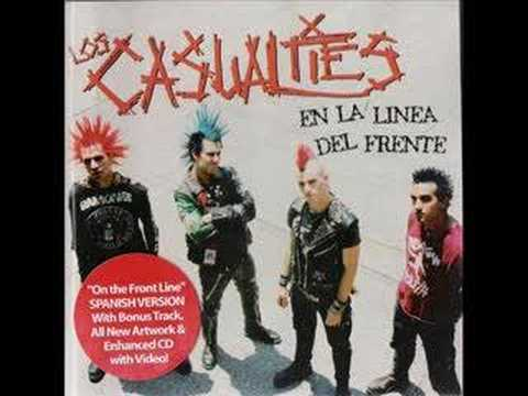 The Casualties - Tragedia Del Amor