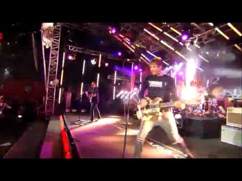 Blink 182 Performs DAMMIT! Summer tour 09! on Jimmy Kimmel Live