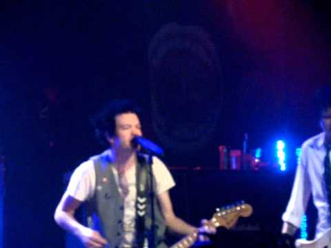 part 1 sum 41 @ skater palace The EASTPAK Antidote Tour 2010 concert (19.11.10 in M�nster)