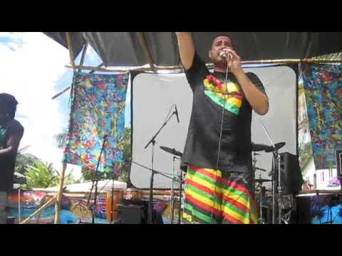 "Marko performs ""I Shall be Released"" in Maui"