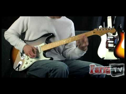 Fender American Deluxe Stratocaster / Farm TV Reviews / themusicfarm.com