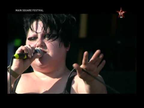 The Gossip, Heavy Cross, Main Square Festival, Arras(France), 4 juillet 2009