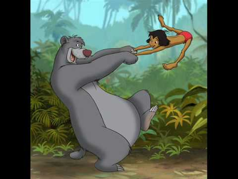 The Jungle Book Song - Bear Necessites