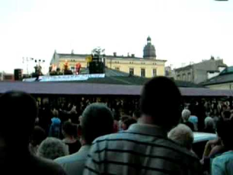Concert on the roof