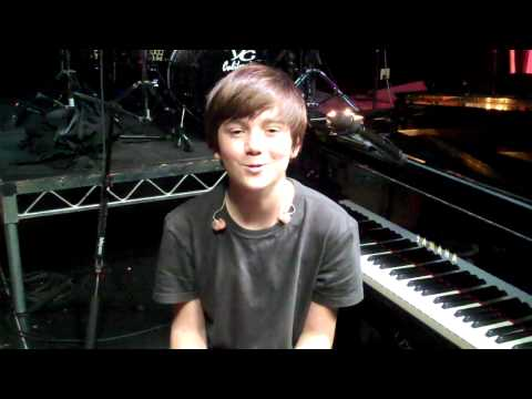 "Greyson Chance introduces ""Waiting Outside The Lines"""