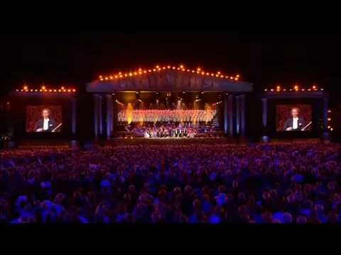 Oh Fortuna - André Rieu - lord of the rings return of the king theme music.