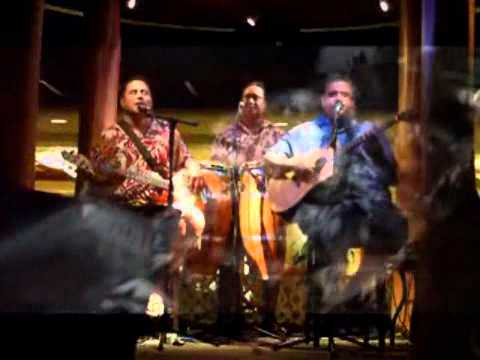 """ Fish and Poi "" The Sean Na` Auao Trio (HawaiianMusicVideo)"