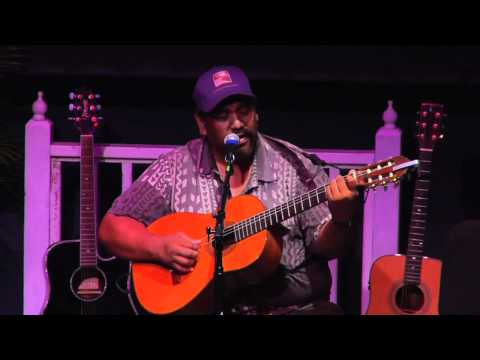 "Kawika Kahiapo - ""Somewhere Over The Rainbow"" Slack Key Guitar Master"
