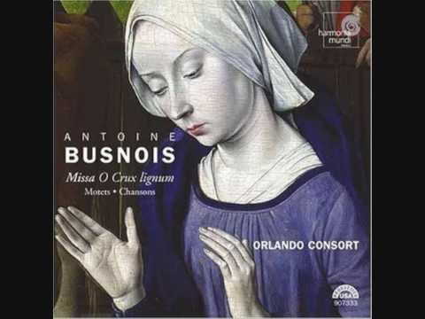 The Orlando Consort: Antoine Busnois-Motet: Gaude caelestis Domina
