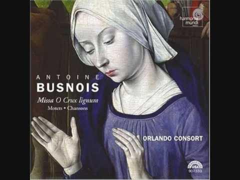 The Orlando Consort: Antoine Busnois-Motet: Gaude caelestis Domina