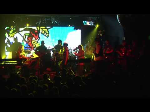 MOTET - 01-22-10 - CROSSWORD PUZZLE - CERVANTES ANNIVERSARY PARTY - DENVER, CO - 2010 - SLY