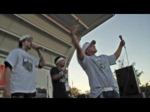 Lucky Charm, Whyte Myk, and Flocain (Omaha Nighthawks Game 1 Live Performance)