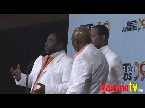 The Ojays on Michael Jackson at 2009 BET AWARDS PRESS ROOM