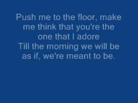 Parlotones - Push Me To The Floor Lyrics