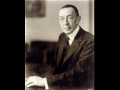 "Rachmaninoff conducts his ""Isle of the Dead"", Part I"