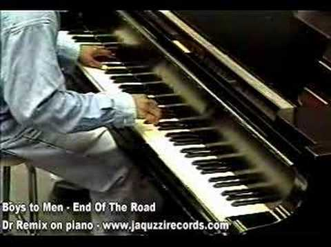 Boyz II Men - End Of The Road - Dr. Remix on piano