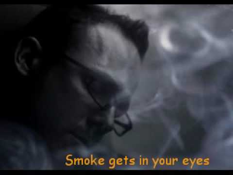 The Platters - Smoke Gets In Your Eyes - Lyrics