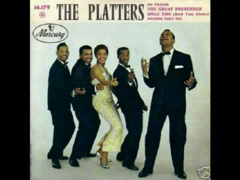 YouTube - The Great Pretender-The Platters(1956)