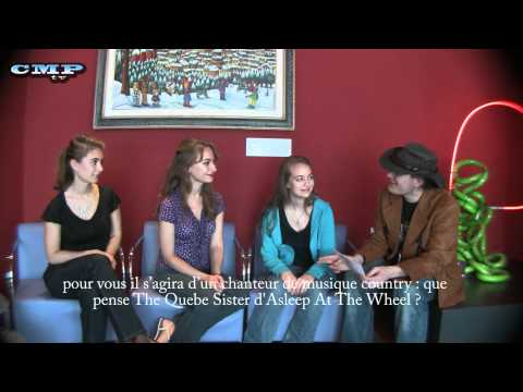 The Quebe Sisters Band interview at the Country Rendez-Vous festival of Craponne