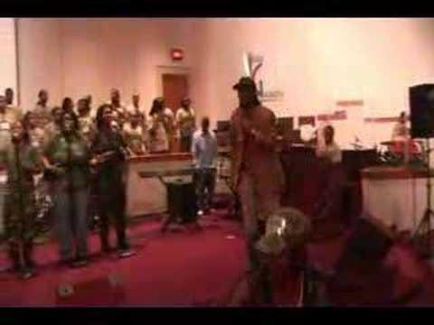 Elder Justin Felton & SevYn ministering @ ARMY Conf 2006