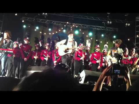 Mumford and Sons w/ Austin High School Marching Band - The Cave