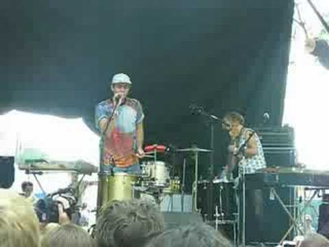 The Ruby Suns - Ole Rinka, live at Pitchfork 2008