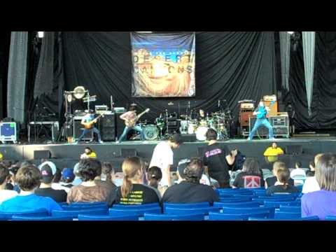 Progressive Nation 2009 Tour w/ Dream Theater (Video 2)(Week 3) - Scale The Summit