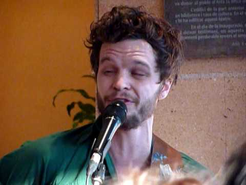 The Tallest Man on Earth - King of Spain. Live @ Teatre d`Art�, Mallorca