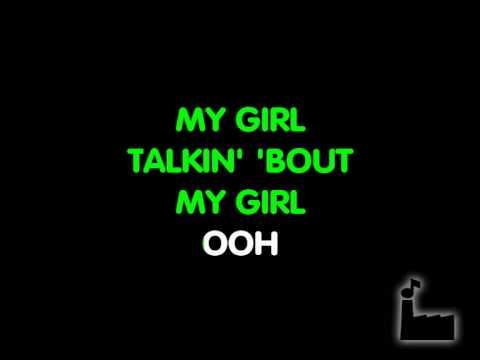 My Girl - In Style Of The Temptations - Karaoke