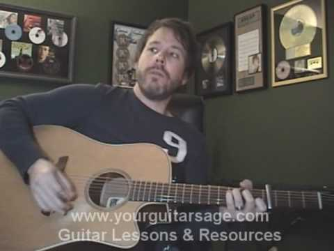 Guitar Lessons - The Freshmen by the Verve Pipe - cover chords freshman Beginners Acoustic songs