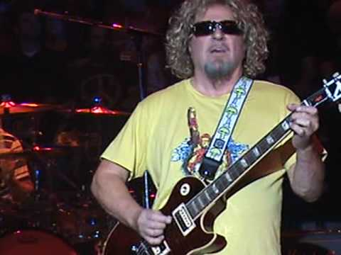 Sammy Hagar - 3 Lock Box - I Love This Bar - 5-8-10