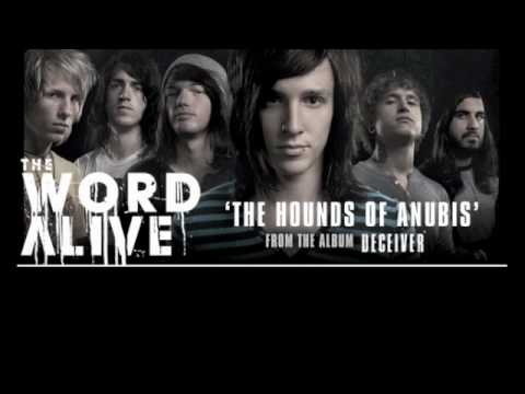 The Word Alive - The Hounds Of Anubis (w/ Lyrics)