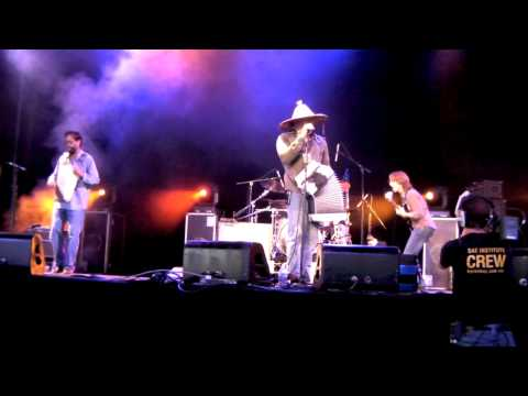 Terrance Simien `Johnny Too Bad` live at Bluesfest Byron Bay 2009