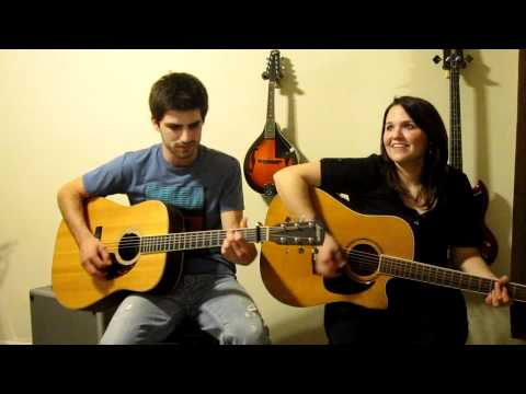 Are You Gonna Kiss Me Or Not-Thompson Square cover by Mitch Rossell and Cassidy Lynn