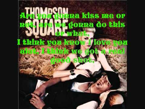 Thompson Square Are you gonna kiss me or not(with lyrics)