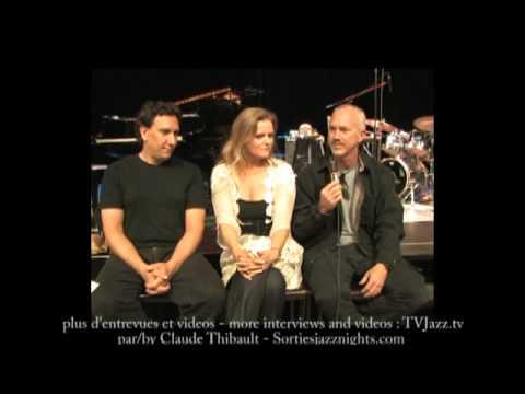 Tierney Sutton Kevin Axt Ray Brinker Interview - TVJazz.tv