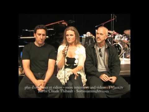 Tierney Sutton Kevin Axt Ray Brinker Interview 2 - TVJazz.tv