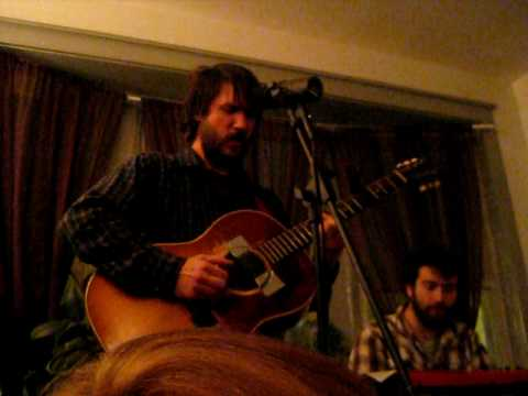 Tim Kasher house show in Chicago