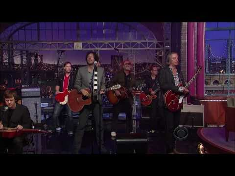 Tired Pony - Dead American Writers (Live on Letterman 09-30-2010) [HD 1080p]
