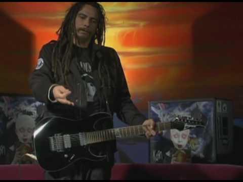 IMV - James Munky Shaffer ( Korn - Blind Guitar Lesson )