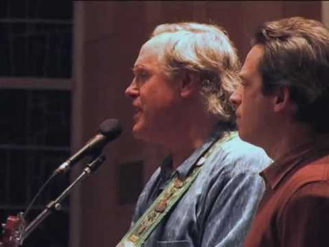 "Tom Chapin and Tim Breese sing Harry Chapin`s Song ""Mr. Tanner"""