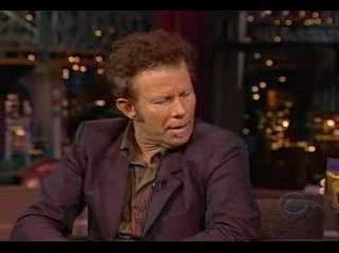 Tom Waits - All the World is Green - Letterman - May 8 2002