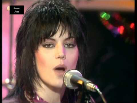 Joan Jett & The Blackhearts - Crimson and Clover (1982) HD