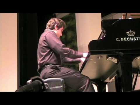 Tony Madruga playing Classical by memory (15 yr. old virtuoso pianist)