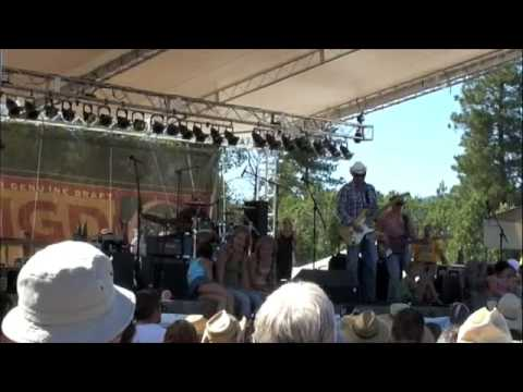 Cowboy Boot at Winthrop Blues Festival