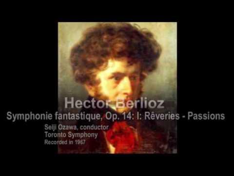Ozawa conducts Berlioz: Symphonie fantastique - First Movement [Part 1/7]